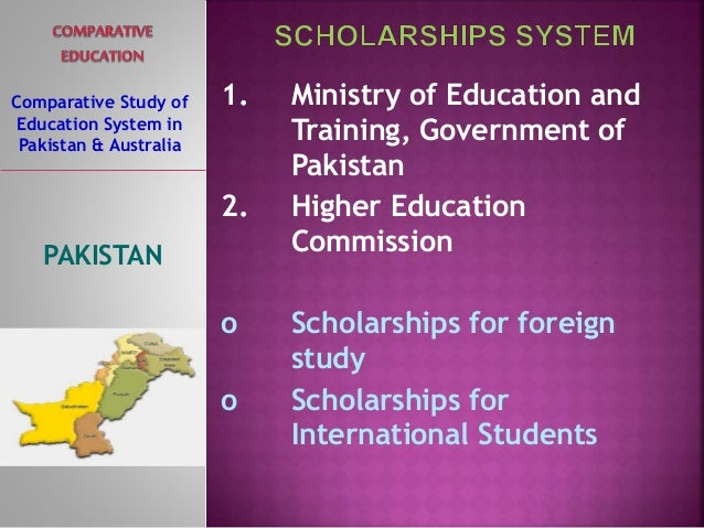 comparative study of education system of This study's goals are to analyze education for all (efa) policies in these  the  comparative analysis of two countries' educational systems,.