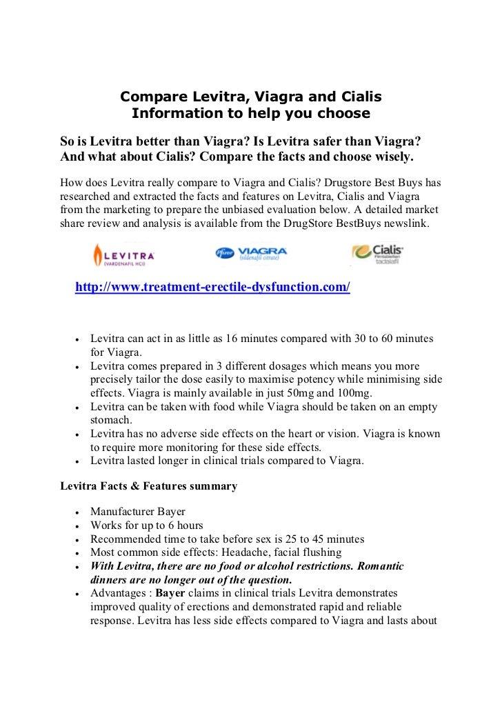 compare levitra viagra and cialis