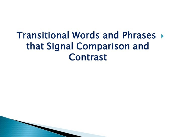 compare and contrast essay writing structure of comparison and  contrast essay