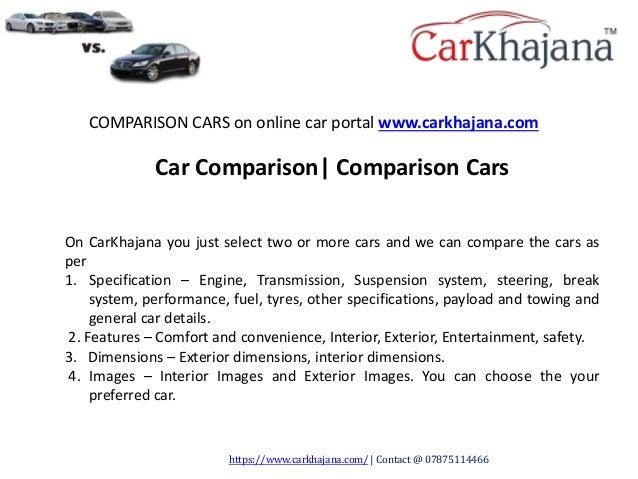 Compare Cars Car Comparison Comparison Cars Carkhajana Com