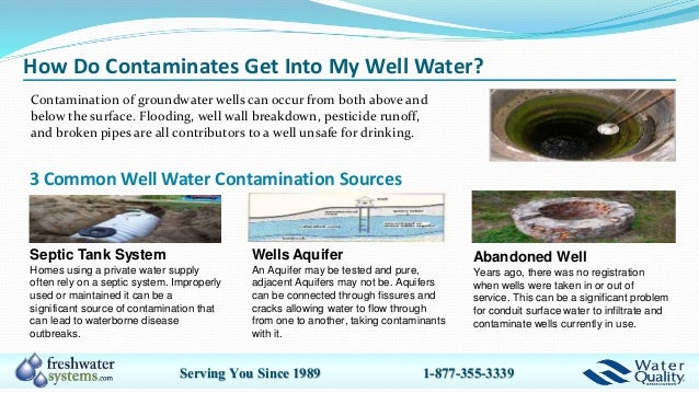 Compare Private Well Water Filter Systems