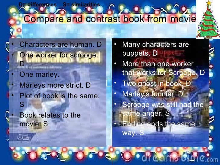 compare and contrast the book holes and movie A lot of parents want their kids to read the book then watch the movie but trends book vs movie book vs movie compare the movies to the.