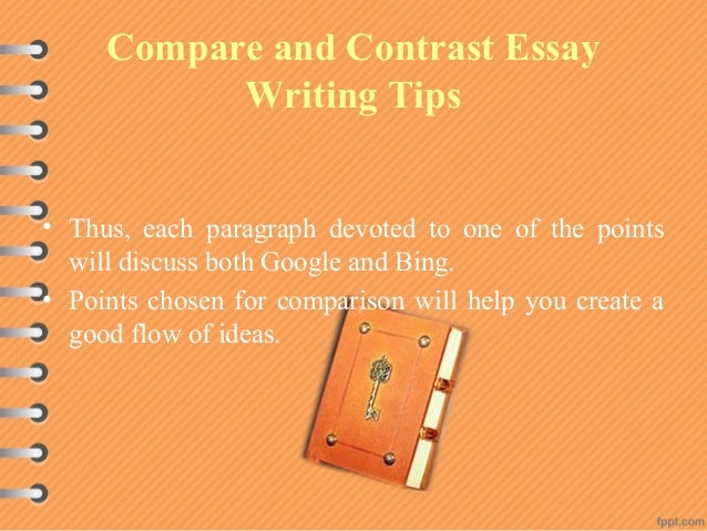 comparing and contrasting essay topics