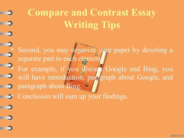 different compare and contrast essay topics