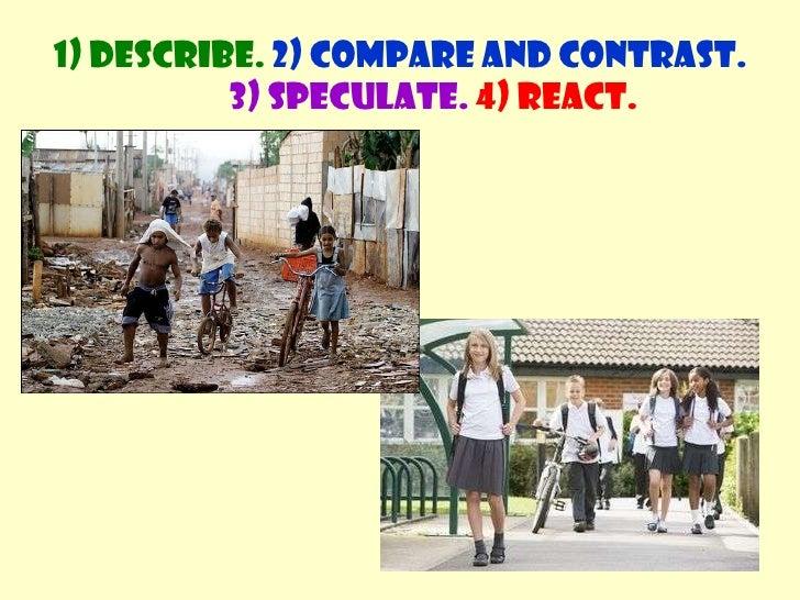 comparing pictures