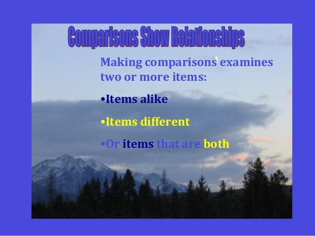 Compare and contrast powerpoint Slide 2