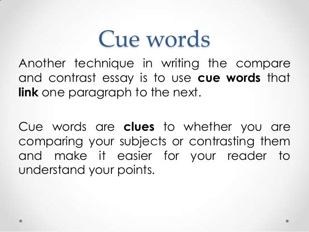 compare contrast essay connecting words Find and save ideas about compare and contrast on pinterest | see more ideas about in contrast to, compare and contrast chart and venn diagram r pinterest education comparing and contrasting characters in an essay compare contrast short story characters.