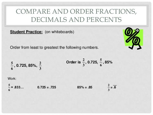 Common Worksheets Arranging Fractions From Least To Greatest – Comparing and Ordering Fractions and Decimals Worksheet