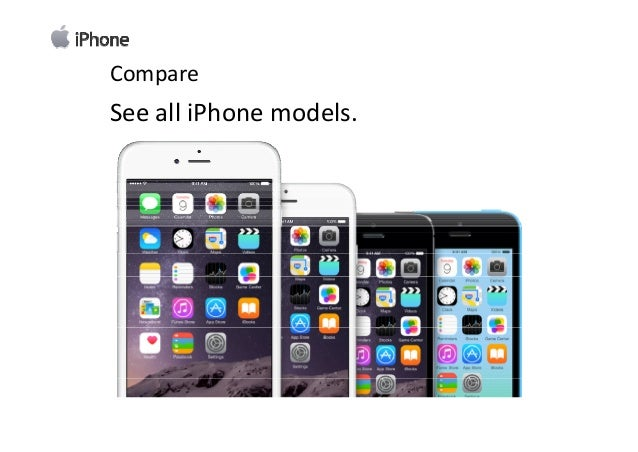 Apple - Compare iPhone Models, Sept' 2014