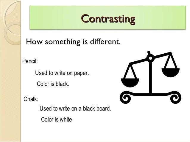 Undersatnding Compare & Contrast in Reading Slide 3