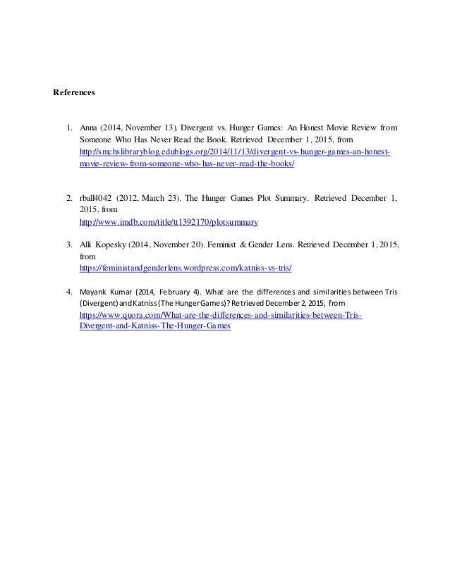 compare contrast essay books movies