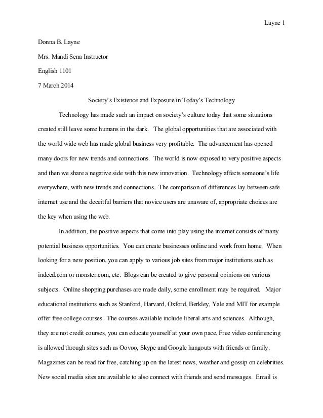 compare contrast essay final layne 1 donna b layne mrs mandi sena instructor english 1101 7 2014