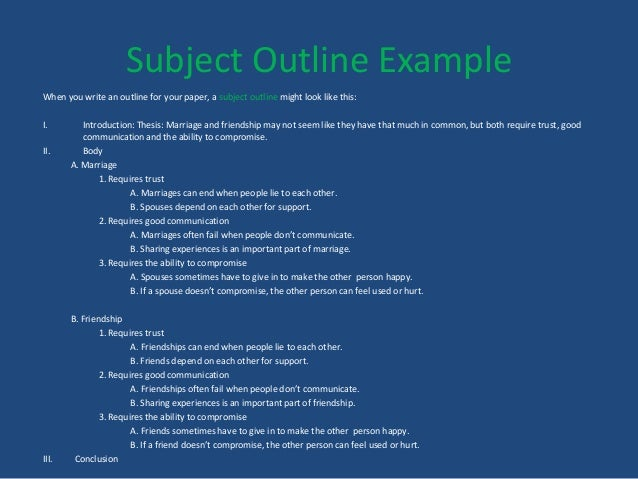 how to write a compare contrast essay conclusion 12 subject outline example when you write