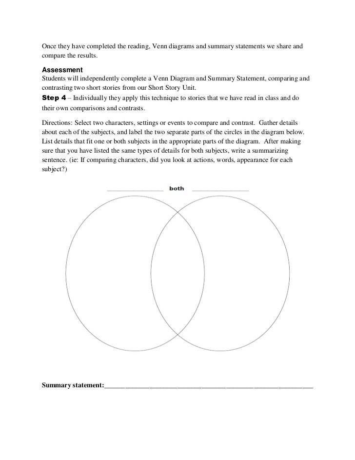 Reading Venn Diagram Lesson Basic Guide Wiring Diagram