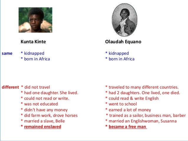 an essay on slavery and olaudah equiano Free olaudah equiano papers, essays, and research papers  of a slave girl  and olaudah equiano's interesting narrative which both imply that sexual abuse, .