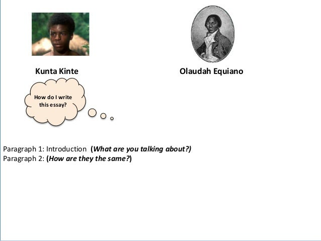 olaudah equiano essay Three page essay on the book, the life of olaudah equiano essay compares and contrasts the institution of slavery in africa and the americas.