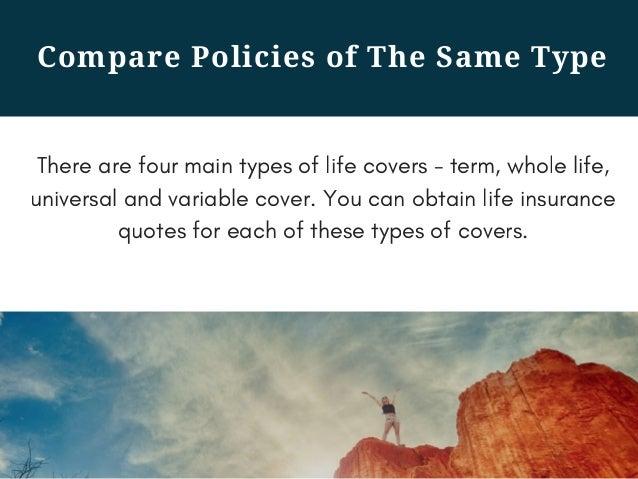 Compare ...