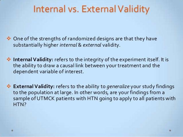 Validity and reliability in quantitative studies ...