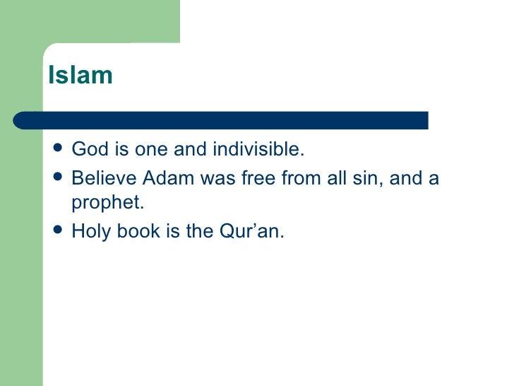 Comparing 3 Major Religions