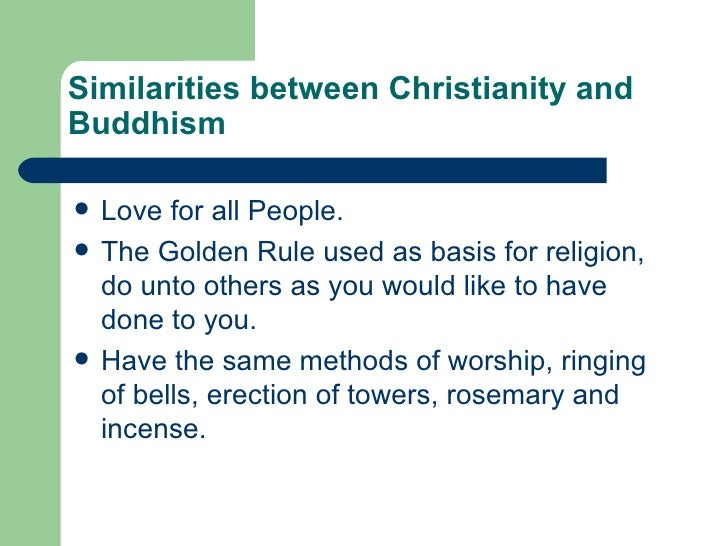 buddhism and christianity quotes