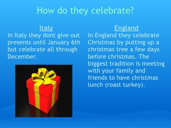 how do they celebrate - How Does Italy Celebrate Christmas