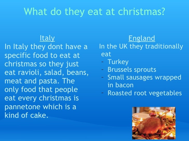 what do they eat at christmas - How Does Italy Celebrate Christmas