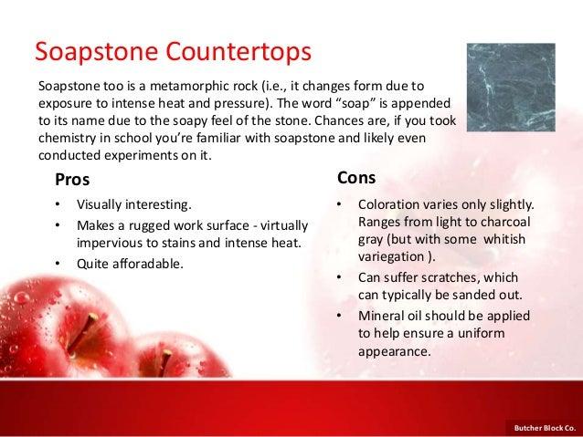 Soapstone Countertops Pros ...