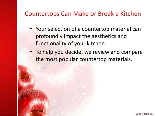 Countertops ...