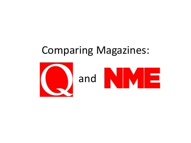 Comparing Magazines: and