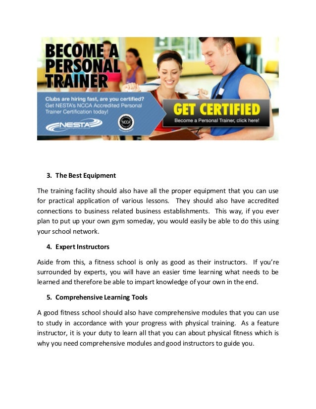 Comparing Personal Trainer Certifications
