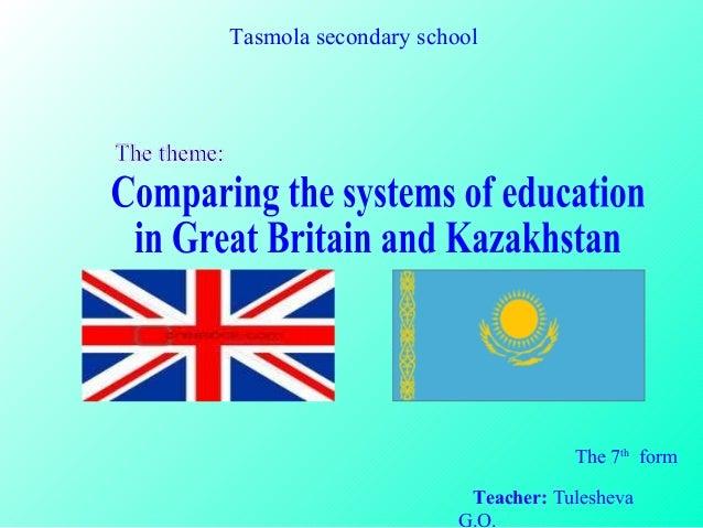 educ system of uk england