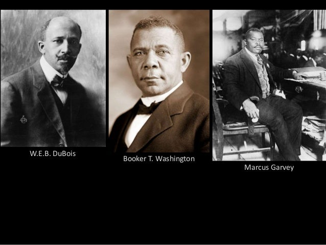 dubois and washington essay An essay comparing and contrasting two extremely influential activists fighting for racial equality by isabella6hunt.