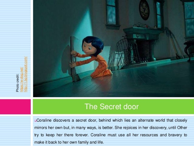 Comparison Between Coraline And Alice In The Wonderland