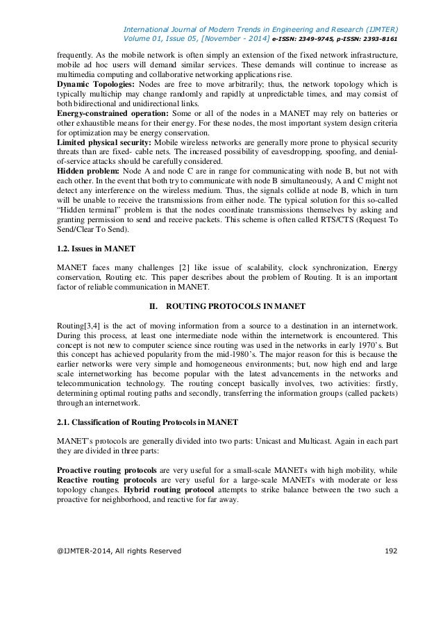 Comparison of Various Unicast-Multicast Routing Protocols ...