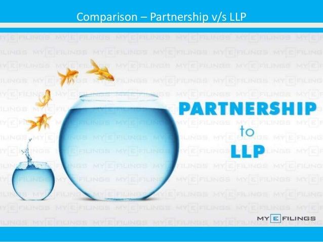 Comparison – Partnership v/s LLP
