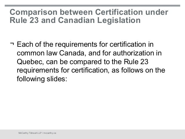 Comparison of canadian and us labor laws