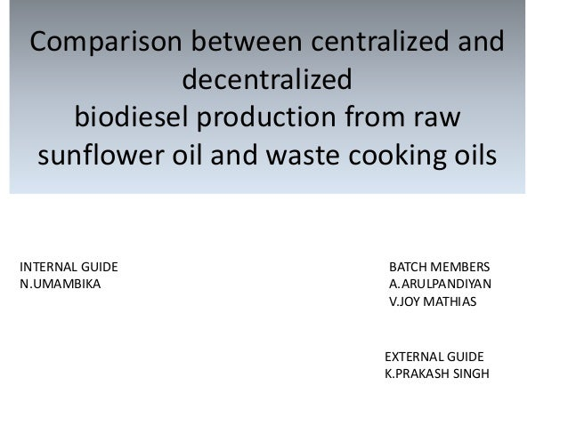 thesis biodiesel from waste cooking oil Synthesis of biodiesel from waste cooking oil m rakib uddin1,, kaniz ferdous1, m rahim uddin1, maksudur r khan1,2, m a islam1 1department of chemical.