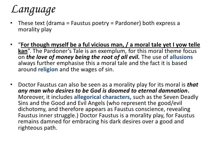 a comparison of the similarities and differences between doctor faustus and doctor parnassus In christopher marlowe's play doctor faustus, the title character learns too late  that selling his soul to the devil is not a good plan not only is it.