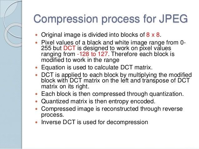 comparison between jpeg dct  and jpeg 2000 dwt