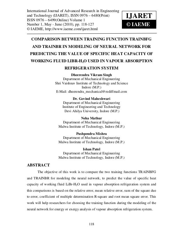 International Journal of Advanced in Engineering and Technology (IJARET)International Journal of Advanced Research Researc...