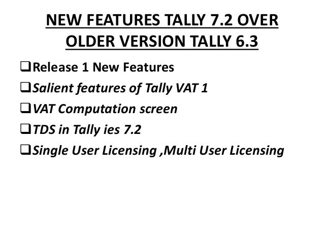 Tally 7.2 Setup Crack
