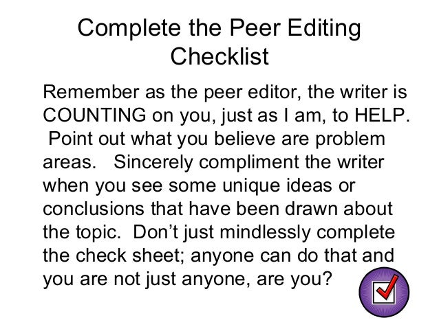 compare and contrast essay revision checklist The revising/editing checklist gives very explicit instructions on how students can make improvements in thier writing while it is a tedious task, the activity emphasizes the importance of ensuring that changes made to any essay are strategic and necessary.