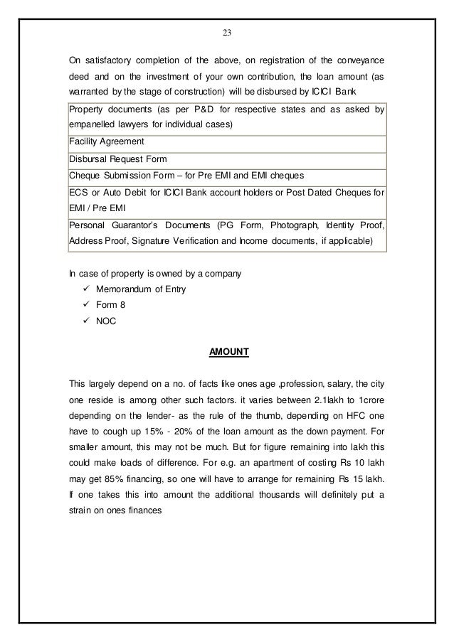 Comparison home loan schemes of hdfc with other banks