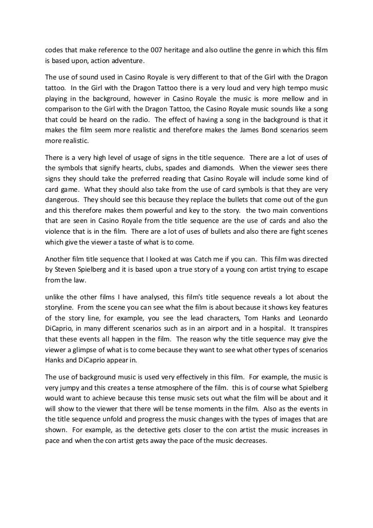 Comparison essay title examples