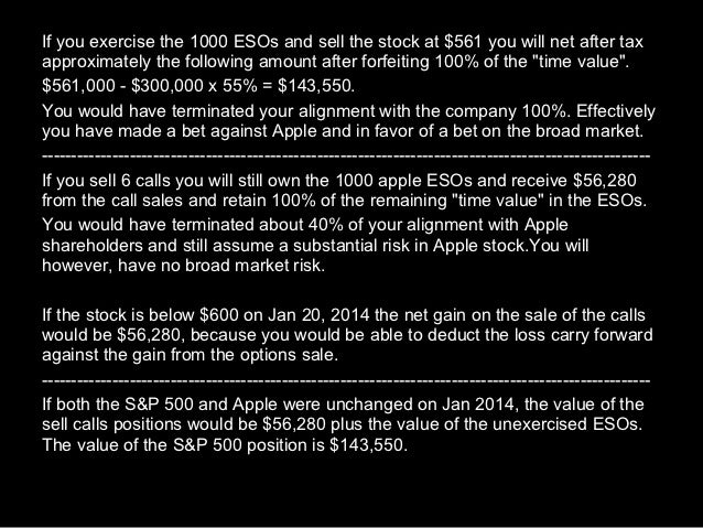 Options strategies for apple