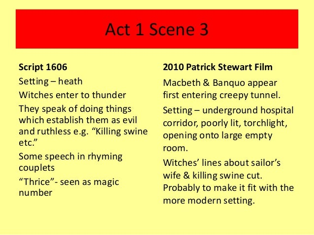 Compare and Contrast Banquo Macbeth and Macduff