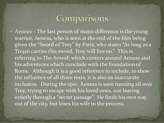 complex characters in the odyssey