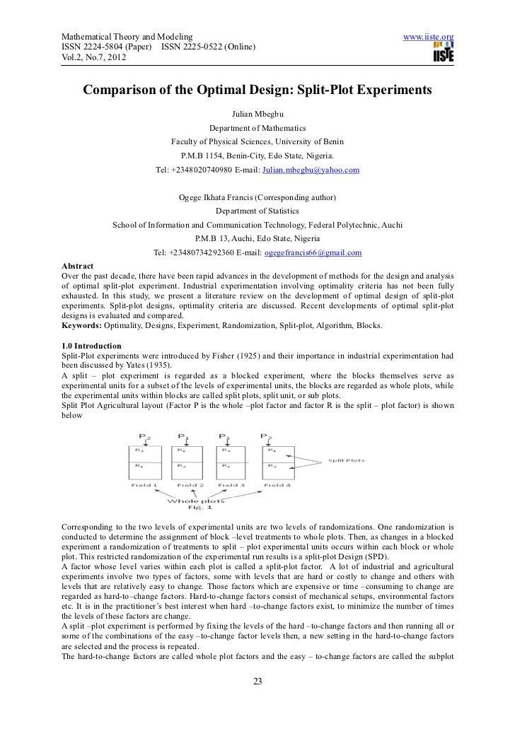 Mathematical Theory and Modeling                                                                    www.iiste.orgISSN 2224...