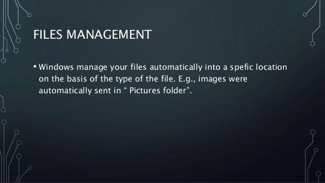unix linux versus mac versus windows file management