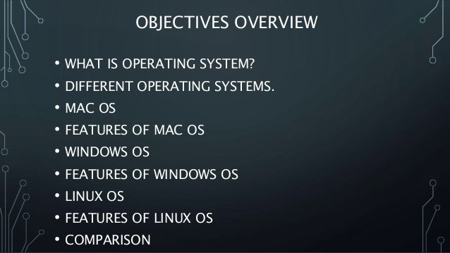 linux and windows operating system comparison essay The prior difference between linux and windows operating system is that linux is totally free of cost whereas windows is commercial operating system and is costly.